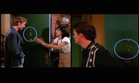 friends apartment number salute