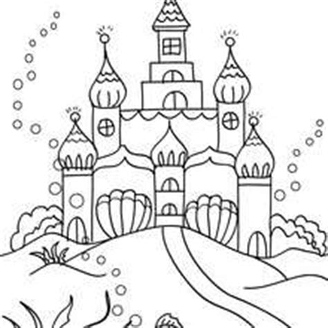 little mermaid castle coloring page 12 images of little mermaid castle coloring pages
