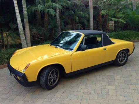 porsche 914 electric find used 1974 porsche 914 electric conversion and