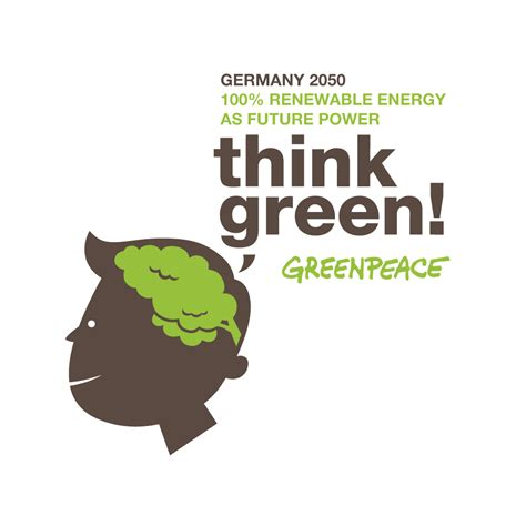 Think Green thinkgreen creativity for the energy revolution