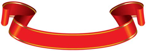 banner red gold png clip art image gallery yopriceville high quality images  transparent