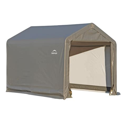 Storage Canopy Sheds by Shop Shelterlogic 6 X 6 Canopy Storage Shed At Lowes