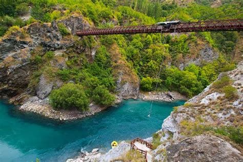 canyon swing new zealand 10 extreme adventures still on my bucket list bucket