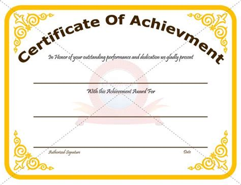 top performer award templates best ideas about recognotion certificates achievement