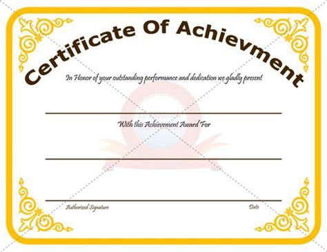 best ideas about recognotion certificates achievement