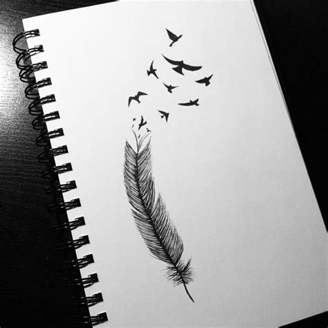 feather tattoo how to draw feather bird drawing artwork pinterest birds events
