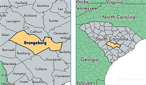 Orangeburg County Records South Carolina Time Zone