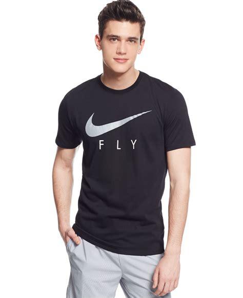T Shirt Nike Fly Black nike sgx fly dri fit t shirt in black for lyst