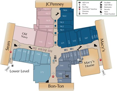 natick mall map lakeforest mall map my