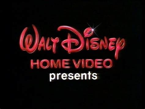 1986 walt disney home video logo aka youtube 1986 walt disney home video quot presents quot logo dvd quality