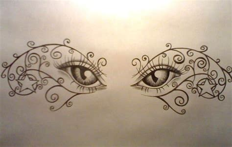 new eyeball design tattooshunt design for lower back tattooshunt