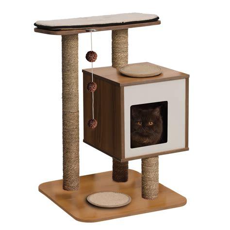 cat furniture vesper cat furniture v base petco