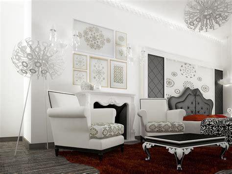 modern baroque living room modern living rooms