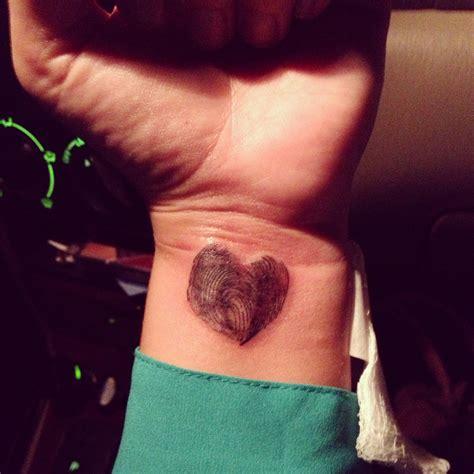 tattoo of us thumbprint pin fingerprint tattoo by miss enigmajpg on pinterest