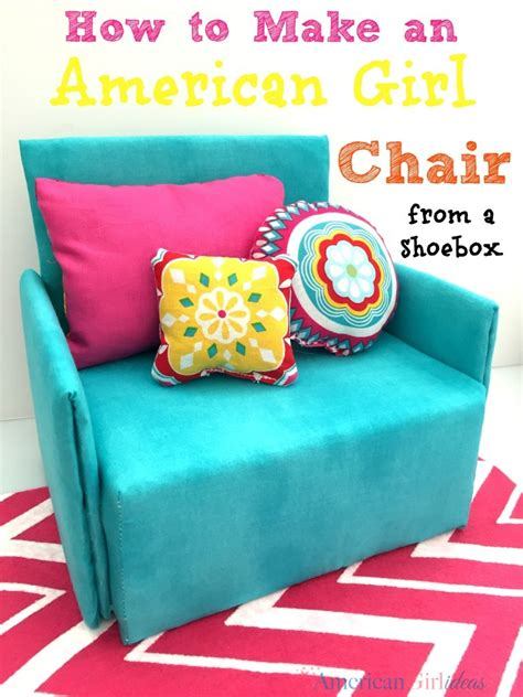 how to make a american girl doll couch how to make a doll chair american girl ideas american
