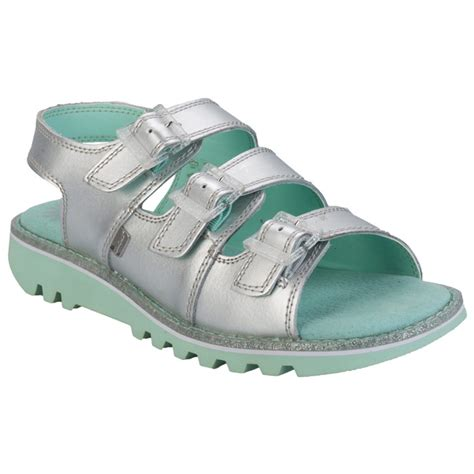 kickers womens sandals s kickers womens kick trisandal sandals get the label