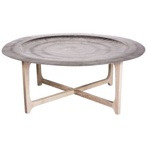 Coffee Tray Table Evoke The Of Morocco With The Laide Coffee Table Featuring A Simple Wood Cross