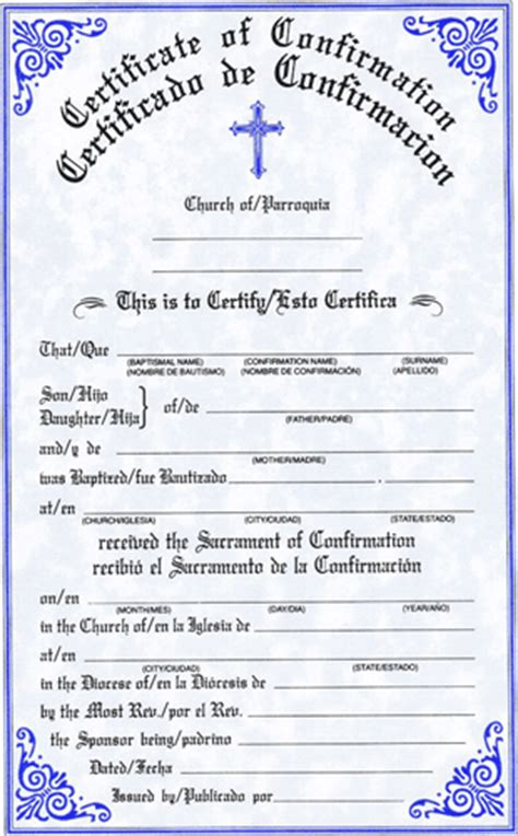 confirmation certificate template sacco religious gifts and