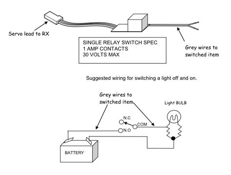 ultra micro relay switch model radio workshop