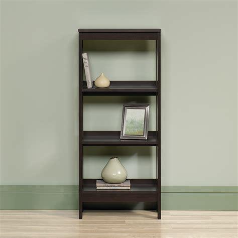 two shelf bookcase cherry camden county 2 shelf bookshelf in planked cherry finish