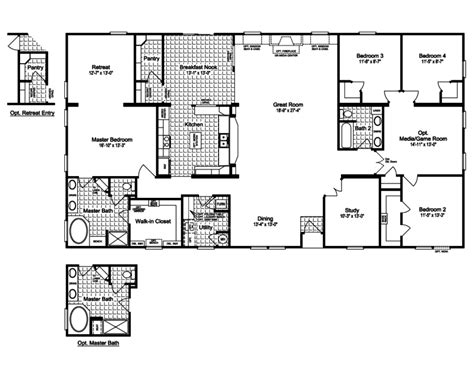 chion modular home floor plans chion double wide mobile home floor plans modern