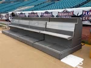 heated bench for first cold weather super bowl benches with wrap