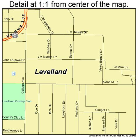 levelland texas map levelland texas map 4842448