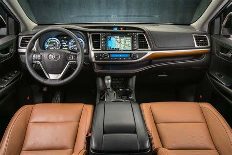 Toyota Highlander Interior Colors 2017 Toyota Highlander Hybrid Limited Platinum Interior
