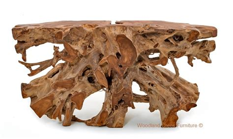 tree root table solid wood console root console table hardwood console table