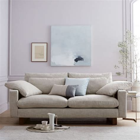 west elm harmony sofa harmony down filled sofa 76 quot west elm