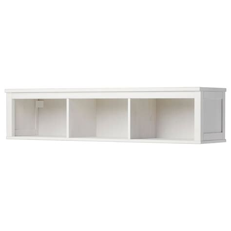 ikea walls hemnes wall bridging shelf white stain 148x37 cm ikea