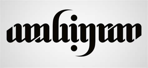 40 cool and creative ambigram designs hongkiat