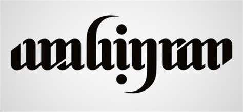 40 cool and creative ambigram designs hongkiat