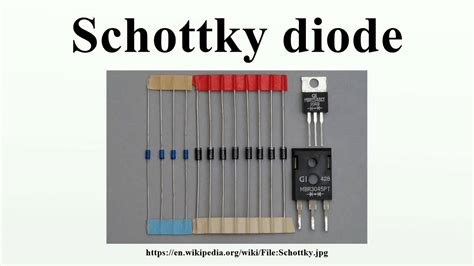 working of schottky diode schottky diode working pdf 28 images diode schottky modern physics lightemittingdiodes org