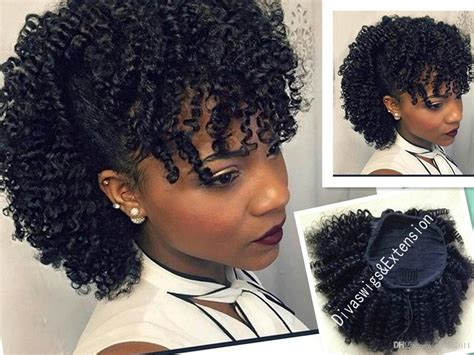 how to style an afro weave afro kinky curly weave ponytail hairstyles clip ins