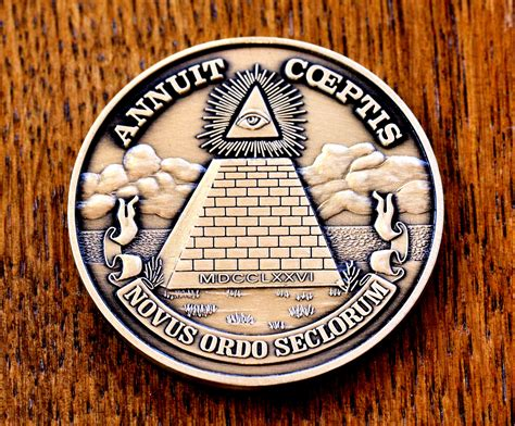 annuit coeptis illuminati pin novus ordo seclorum the illuminati thread secret world