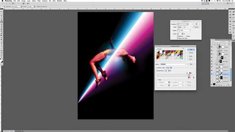 tutorial photoshop gradient create dynamic art using glows and lighting effects