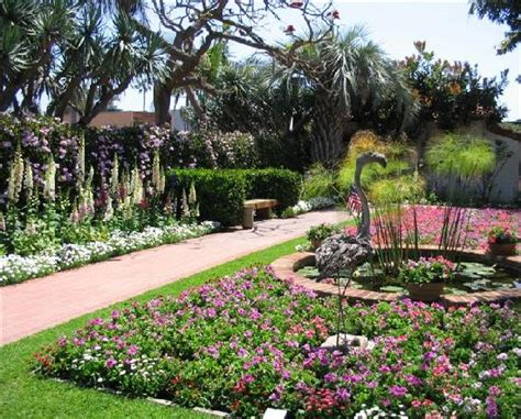 Sherman Library And Gardens by Colorful Spread Of Annuals Perennials Picture Of