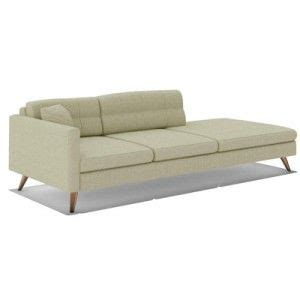 single arm chaise lounge chaise lounge arm bench dane one arm sofa the dane one