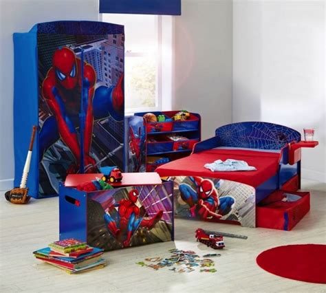 boys spiderman bedroom ideas spiderman furniture set for toddler boy bedroom ideas