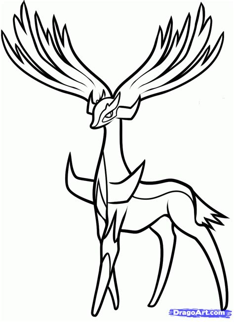 pokemon coloring pages yveltal how to draw xerneas pokemon x and y step by step