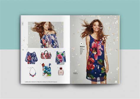 design fashion catalog desigual ss16 catalogue on behance