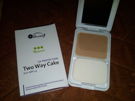 Bedak Rivera Two Way Cake bedak two way cake anisa anisa herbal skin care