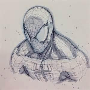spider man by alvin lee zeichnungen pinterest