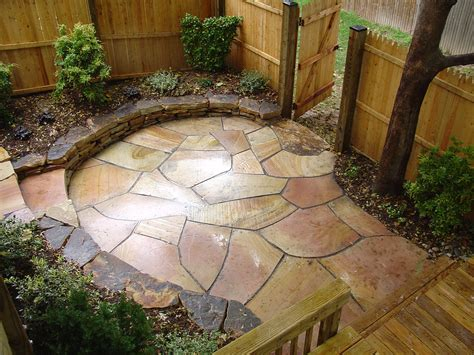 irregular flagstone patio garden patio and pathway pinterest