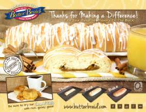 Emch fundraising llc order forms butter braid pastries classic