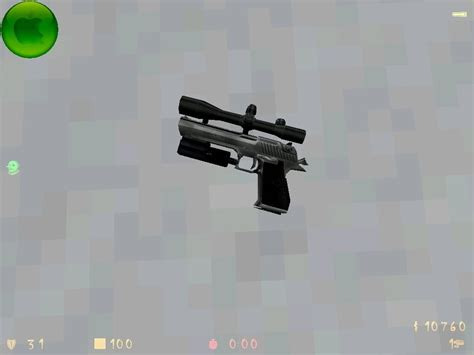 Cs With Mba Scope by Deagle With Scope Counter Strike 1 6 Skin Mods