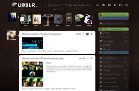 Themes For Dashboard On Tumblr | dashboard themes on tumblr