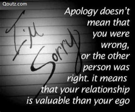 Apology Letter For Wrong Quotation Apology Quotes Images 461 Quotes Page 64 Quotespictures