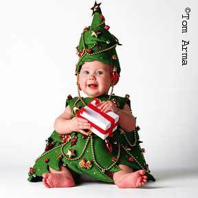como hacer un disfras que represente un arbol disfraces navidad bebes arbol navidad